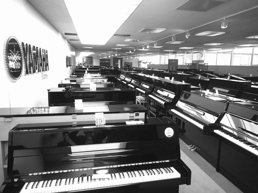 Surbiton Piano Showroom Slide 1