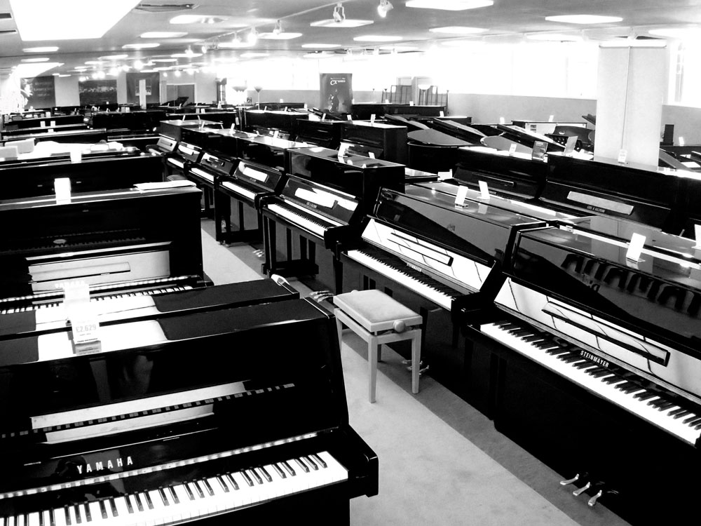 Surbiton Piano Showroom Slide 2
