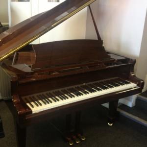 Weber W150 D Series Grand Piano Walnut Polish