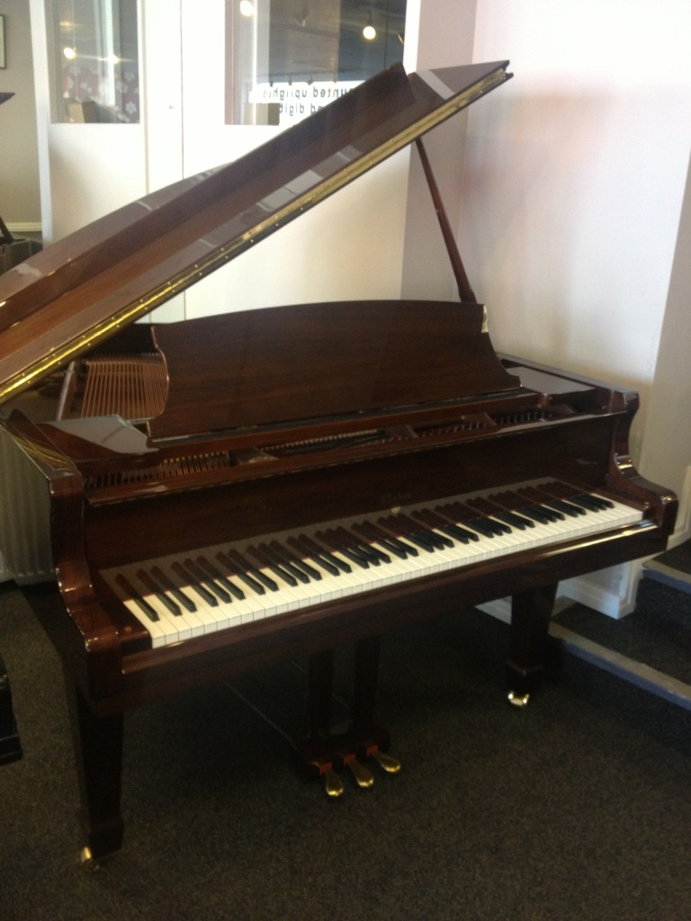 Weber W150 D Series Grand Piano Walnut Polish
