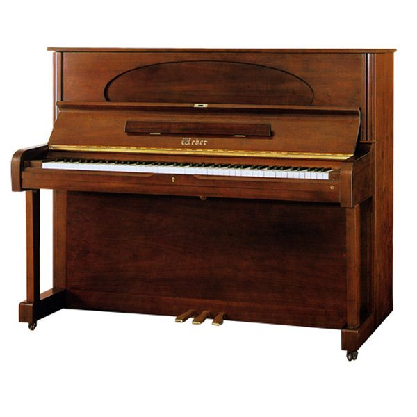 Weber-W121R-WP-D-Series-Upright-Piano
