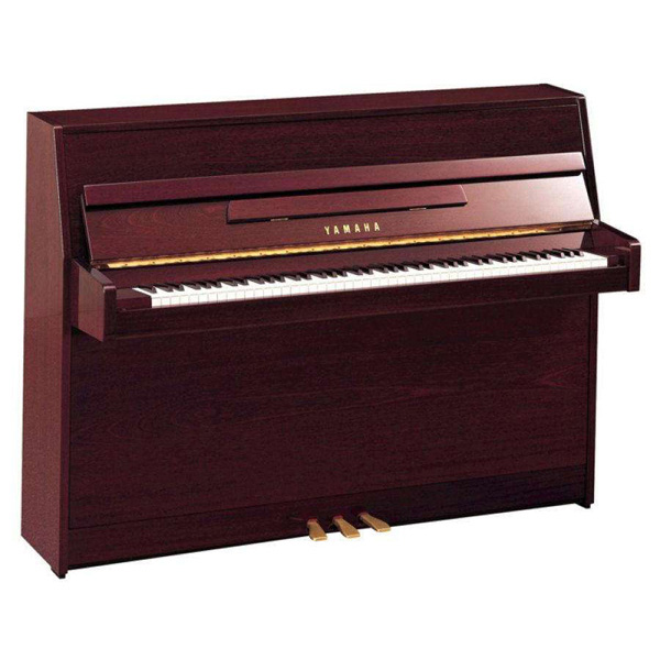 Yamaha B1 Upright Piano Simulated Polished Mahogany
