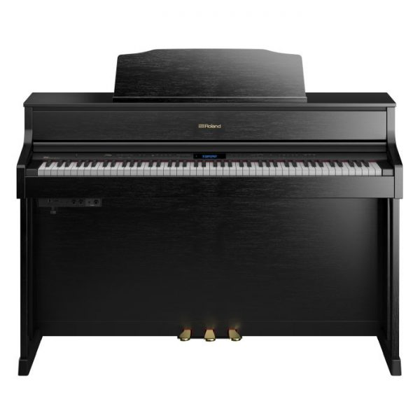 Roland HP605 digital piano black