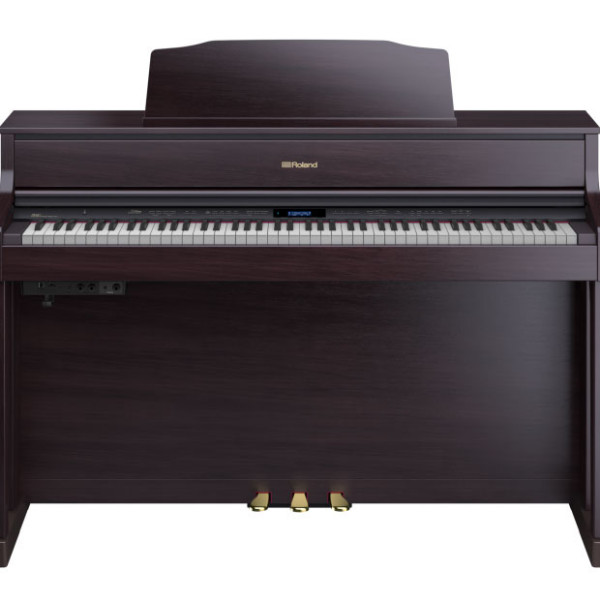 Roland HP605 digital piano rosewood