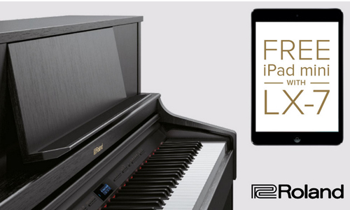 roland lx-7 ipad mini