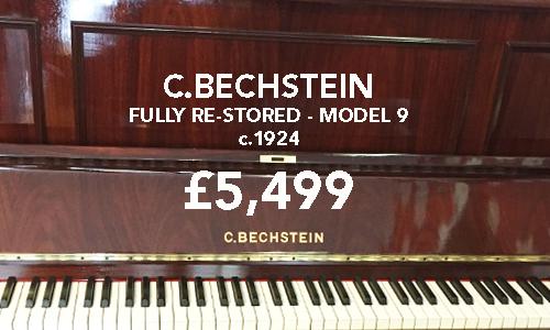 Bechstein restored model 9