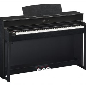 Yamaha Clavinova clp 645 in black finish