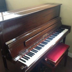 piano upright welmar second hand