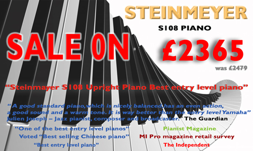 sale on steinmayer piano
