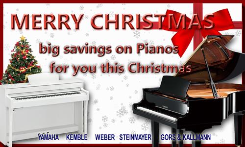 piano warehouse merry christmas